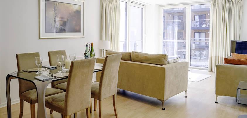 Southampton Apartment Living Room