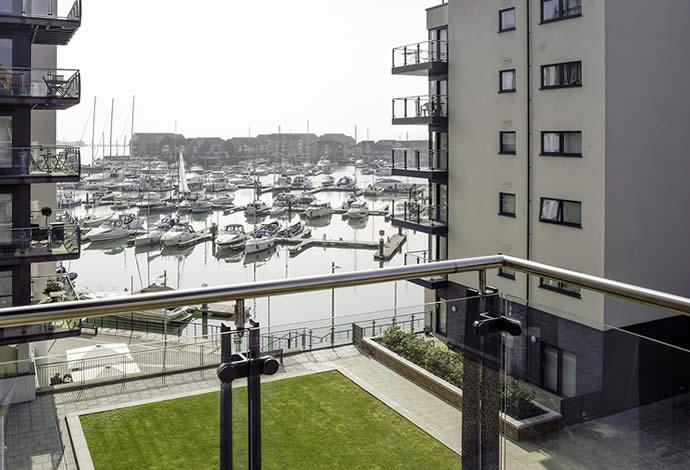 Ocean Village Apartments Balcony View